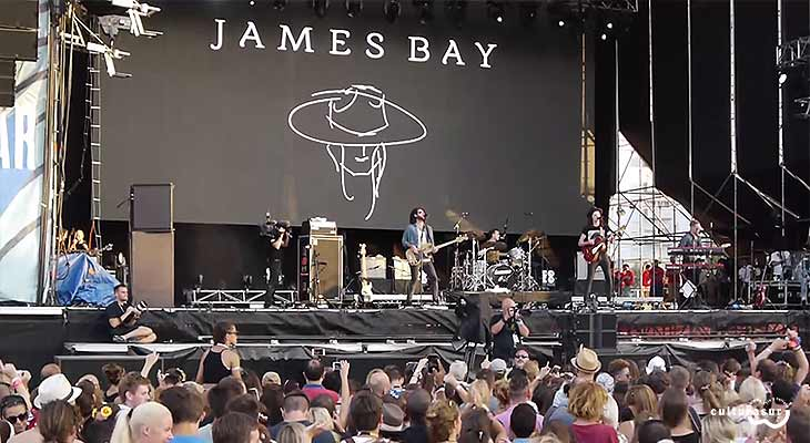 James Bay en GIB Music Festival